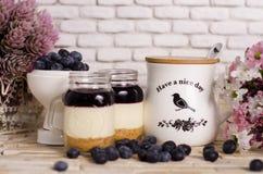 Cake In Jar Stock Photo