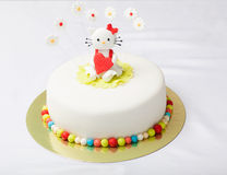 Cake kitty Stock Images