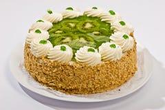 Cake with kiwi Royalty Free Stock Photography