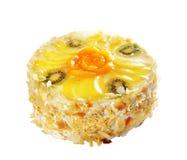 Cake with kiwi fruit and orange pieces Stock Photography