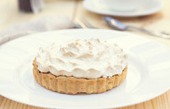 Cake or Lemon pie Royalty Free Stock Images
