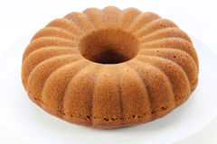 Cake. Lemon cake on a plate Royalty Free Stock Image