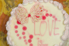 Cake. Royalty Free Stock Images