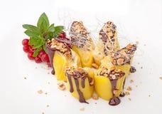 Cake with mango Royalty Free Stock Photos