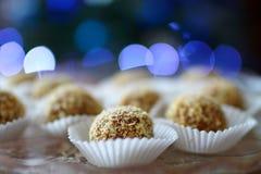 Cake marlenka. A Cake marlenka - honey balls with nuts royalty free stock photos