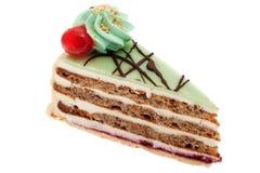 Cake with marzipan Royalty Free Stock Photos