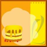 Cake menu Stock Images