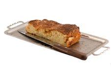 Cake met appelen Royalty-vrije Stock Foto