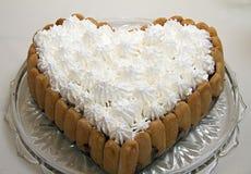 Cake met chocolade en koekje royalty-vrije stock foto's
