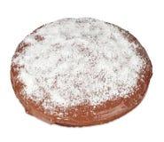Cake met chocolade en kokosnoot Royalty-vrije Stock Foto's