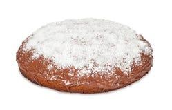 Cake met chocolade en kokosnoot Stock Foto's