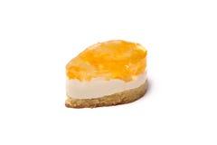 Cake met fruitgelei Royalty-vrije Stock Foto's