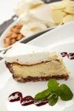Cake met jam Stock Foto