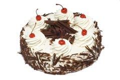 Cake met kers Royalty-vrije Stock Foto's
