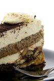 Cake met koekjes stock afbeelding