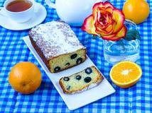 Cake met olijven Royalty-vrije Stock Afbeeldingen