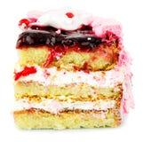 Cake met room stock foto