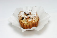 Cake met rozijn Royalty-vrije Stock Afbeelding