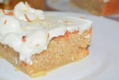 Cake met slagroom Royalty-vrije Stock Fotografie