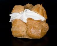 Cake met vla. Royalty-vrije Stock Fotografie
