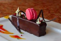 Cake met zwarte bes Royalty-vrije Stock Afbeeldingen