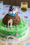 Cake mole Stock Photos