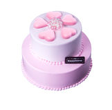 cake or mothers day cake on a background. Stock Images
