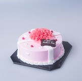 cake or mothers day cake on a background. Stock Photography
