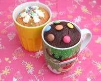 Cake in a mug Stock Photo