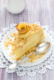 Cake Napoleon Stock Image