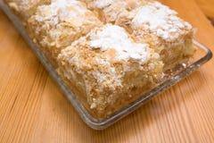 Cake napoleon Royalty Free Stock Image