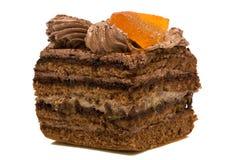 Cake with orange Stock Photography