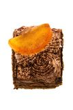 Cake with orange Stock Photos