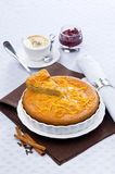 Cake with orange. And four spices Royalty Free Stock Photos