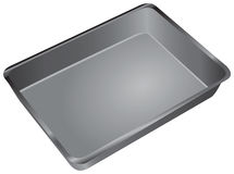 Cake Pan Stock Photography