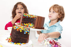 Cake party Stock Image