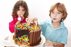 Cake party Royalty Free Stock Photos