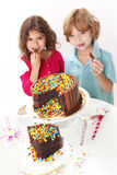 Cake party Stock Photo
