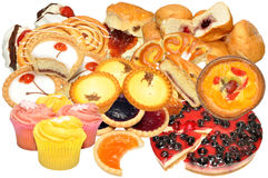 Cake And Pastry Assortment Royalty Free Stock Image