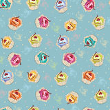 Cake pattern royalty free illustration