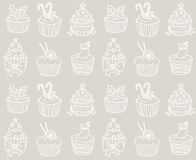 Cake pattern Royalty Free Stock Photo