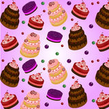 Cake pattern stock images