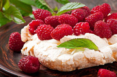 Cake Pavlova Royalty Free Stock Images
