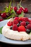 Cake Pavlova Royalty Free Stock Image