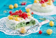 Cake Pavlova Stock Images