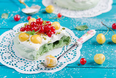 Cake Pavlova Stock Photos