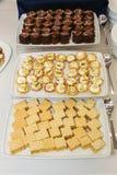 Cake plates Stock Photo