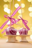 Cake pops Stock Images