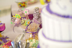 Cake pops Stock Photography