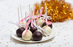 Cake pops Stock Photography